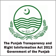 Punjab Transparency and RTI Act 2013